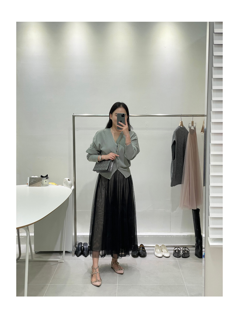 드레스 모델 착용 이미지-S1L33